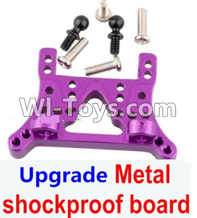 Wltoys A969 Upgrade Metal shockproof board-Gold,Wltoys A969 Parts