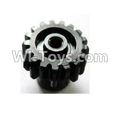 Wltoys A979 Upgrade motor Gear(1pcs)-0.7 Modulus-Black,Wltoys A979 Upgrade Parts