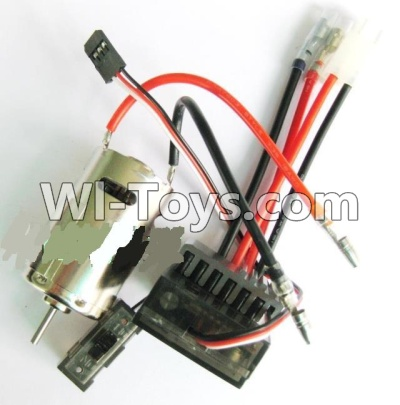 Wltoys A979 Upgrade 390 Brush motor & Upgrade Brush Motor ESC,Wltoys A979 Upgrade Parts