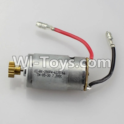 Wltoys A979 Motor Parts,Official Main brush motor with copper gear,Wltoys A979 Upgrade Parts