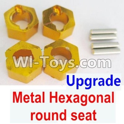 Wltoys A979 Upgrade Metal Hexagonal round seat Parts-4pcs-Yellow,Wltoys A979 Parts