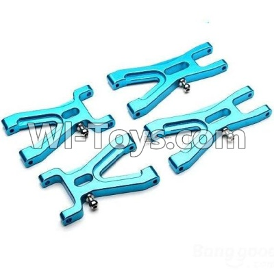 Wltoys A979 Upgrade Metal Front Swing arm Parts-2pcs & Upgrade Metal Rear Swing arm