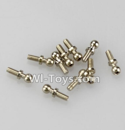 Wltoys A979 Ball-Shape Screws Parts(10.8mmX4mm)-8pcs,Wltoys A979 Parts