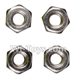 Wltoys A979 M3 Anti-loose Screw nut Parts-4pcs,Wltoys A979 Parts