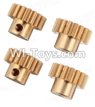 Wltoys K929-B Copper motor Gear(4pcs)-0.7 Modulus-27 Teeth,Wltoys K929-B K929B Parts