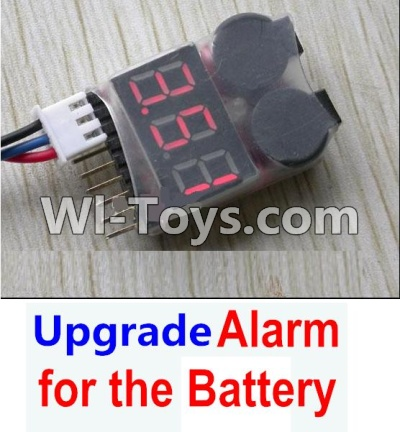 Wltoys K929-B Upgrade Alarm for the Battery,Can test whether your battery has enouth power,Wltoys K929-B K929B Parts