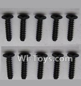 Wltoys K929-B Round head screws Parts-M2.5X10(10PCS),Wltoys K929-B K929B Parts