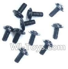 Wltoys K929-B Round with referral screws Parts-M2.5X6X6(10PCS)-A949-43,Wltoys K929-B K929B Parts