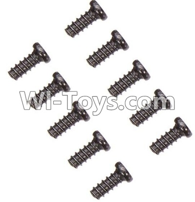 Wltoys K929-B Countersunk head self-tapping screws Parts-M2X6(10PCS)-A949-47,Wltoys K929-B K929B Parts