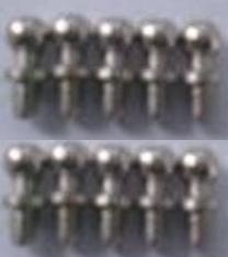 Wltoys K929-B Ball head screws Parts-9.3X4MM-(10pcs)-K929-14,Wltoys K929-B K929B Parts