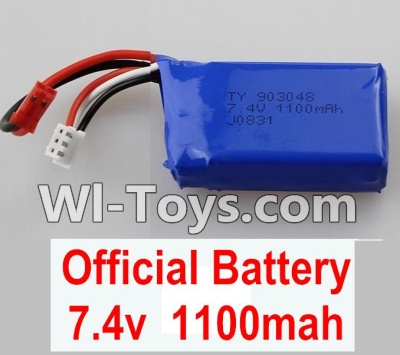 Wltoys K929 Battery Parts-Official 7.4v 1100mah battery,Wltoys K929 Parts