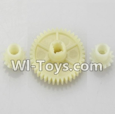 Wltoys K929 Official Reduction gear with 2 small gear,Wltoys K929 Parts