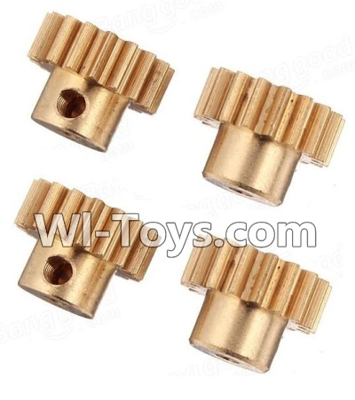 Wltoys K929 Copper motor Gear Parts-4pcs-0.7 Modulus,Wltoys K929 Parts