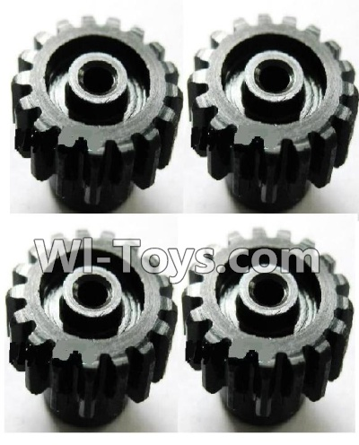 Wltoys K929 Upgrade motor Gear Parts-4pcs-0.7 Modulus-Black,Wltoys K929 Parts