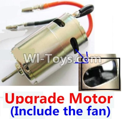 Wltoys K929 Upgrade Brush motor(Include the Fan,can strengthen the cooling function),Wltoys K929 Parts