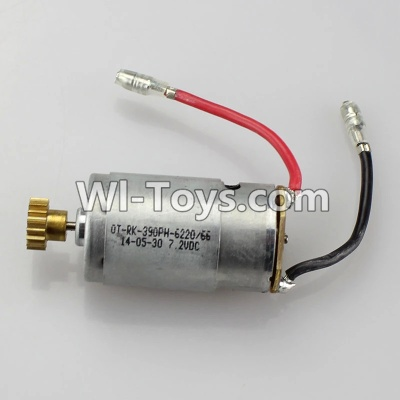 Wltoys K929 Motor Parts-Official Main brush motor with copper gear,Wltoys K929 Parts