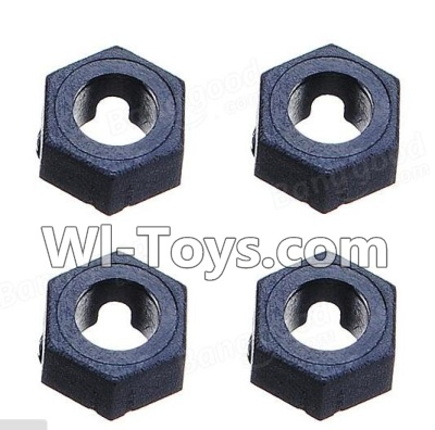 Wltoys K929 Official Hexagonal round seat Parts-4pcs,Wltoys K929 Parts