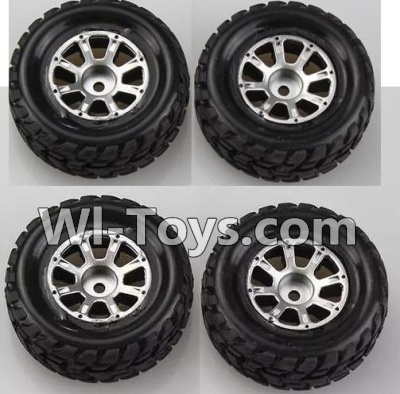 Wltoys K929 Wheel Parts-Official-(2pcs Left and 2pcs Right Wheel),Wltoys K929 Parts