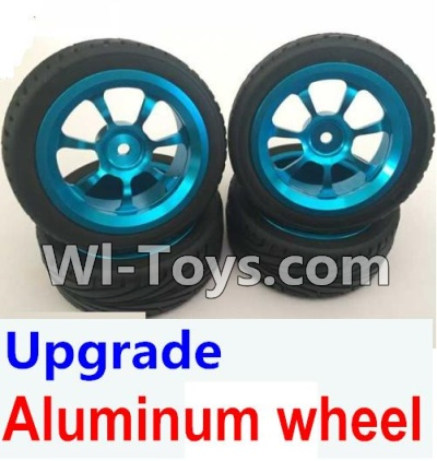 Wltoys K929 Upgrade Aluminum wheel Parts-(4pcs-Include the Tire leather)