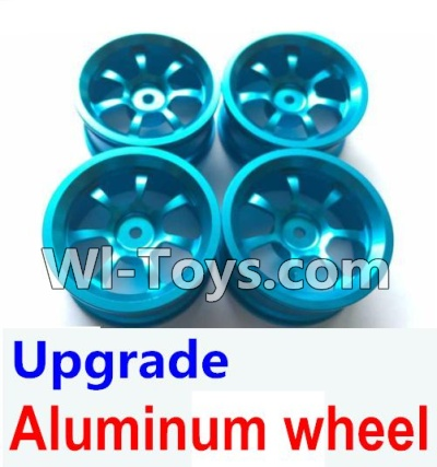 Wltoys K929 Upgrade Aluminum wheel Parts-(4pcs-Not include the Tire leather)