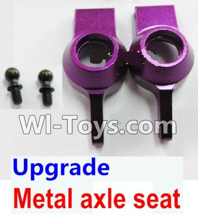 Wltoys K929 Upgrade Metal axle seat-Purple,Wltoys K929 Parts