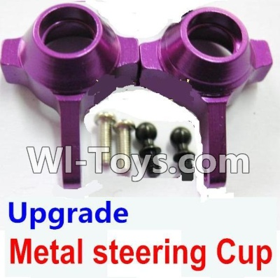 Wltoys K929 Upgrade Metal steering Cup-Purple,Wltoys K929 Parts
