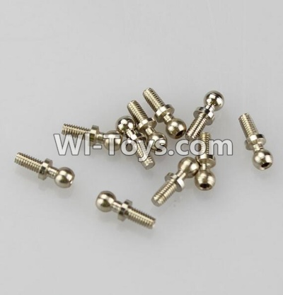 Wltoys K929 Ball-Shape Screws Parts(10.8mmX4mm)-8pcs,Wltoys K929 Parts