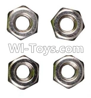 Wltoys K929 M3 Anti-loose Screw nut Parts-4pcs,Wltoys K929 Parts