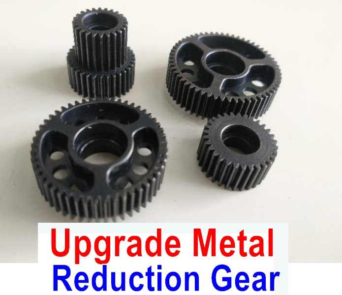 Wltoys 10428-B2 Upgrade Metal Reduction Gear Set(Total 4pcs)