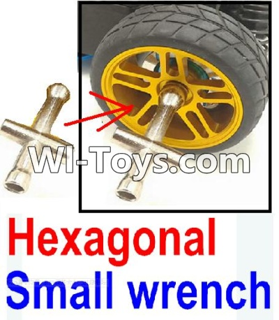 Wltoys 10428 Hexagonal small wrench(Can be used for M2, M2.5, M3, M4 nut specifications)