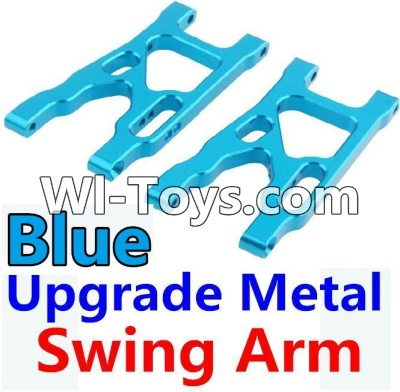 Wltoys 10428 Upgrade Metal Swing Arm-Blue-2pcs,Wltoys 10428 Parts