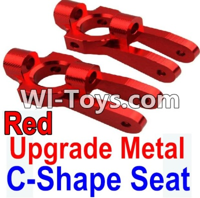 Wltoys 10428 Upgrade Metal C-Shape Seat-Red-2pcs,Wltoys 10428 Parts