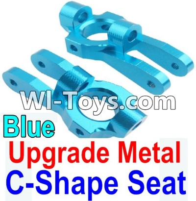 Wltoys 10428 Upgrade Metal C-Shape Seat-Blue-2pcs,Wltoys 10428 Parts