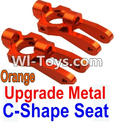 Wltoys 10428 Upgrade Metal C-Shape Seat-Orange-2pcs,Wltoys 10428 Parts