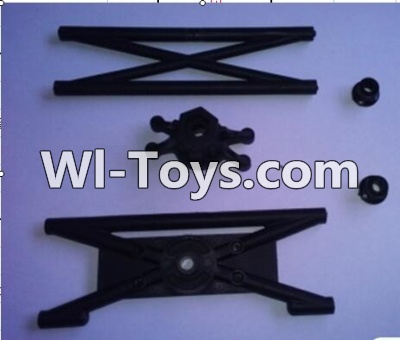 Wltoys 10428 body Rear Rollcage A and B Parts,Wltoys 10428 Parts