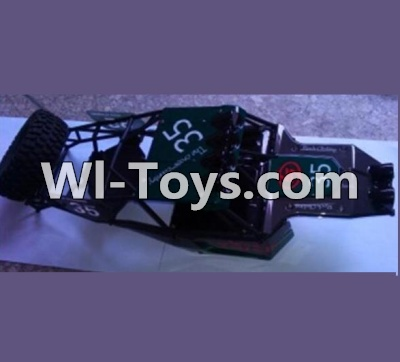Wltoys K949 Whole Car shell unit(Include Car shell,All Rollcage),Wltoys K949 Parts