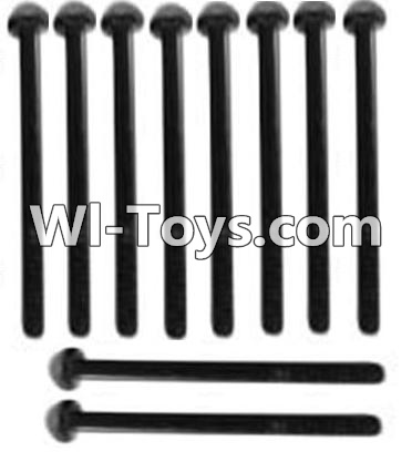 Wltoys 10428 A929-72 Pan head inner hexagon Screws-M3X21-Black zinc plated(10PCS),Wltoys 10428 Parts