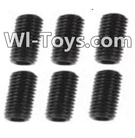 Wltoys K949 A929-85 Jimi screws-M3X8-Black zinc plated(6PCS),Wltoys K949 Parts