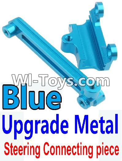Wltoys 10428 Upgrade Metal Steering connecting piece-Blue,Wltoys 10428 Parts