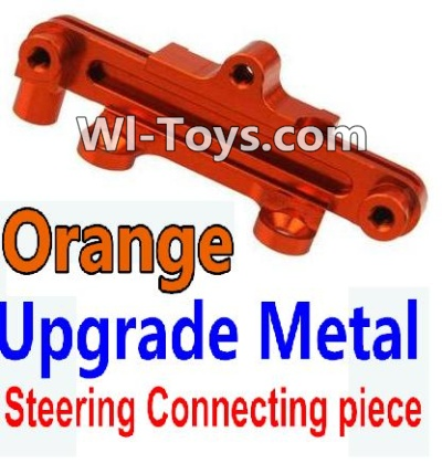 Wltoys 10428 Upgrade Metal Steering connecting piece-Orange,Wltoys 10428 Parts