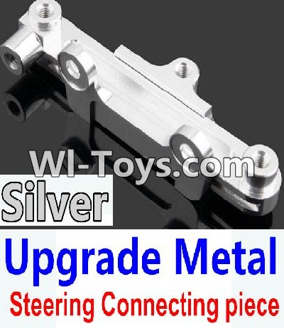Wltoys 10428 Upgrade Metal Steering connecting piece-Silver,Wltoys 10428 Parts