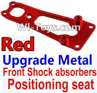 Wltoys 10428 Upgrade Metal Front Shock absorbers Positioning seat-Red,Wltoys 10428 Parts