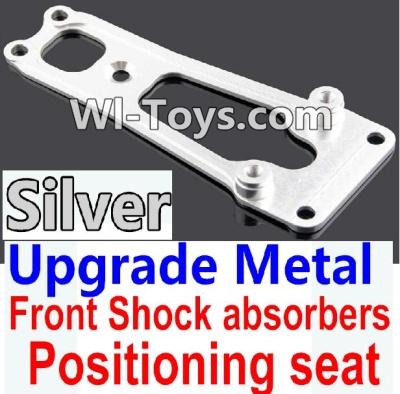 Wltoys 10428 Upgrade Metal Front Shock absorbers Positioning seat-Silver,Wltoys 10428 Parts