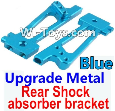 Wltoys 10428 Upgrade Metal Rear Shock absorber bracket-Blue-2pcs,Wltoys 10428 Parts