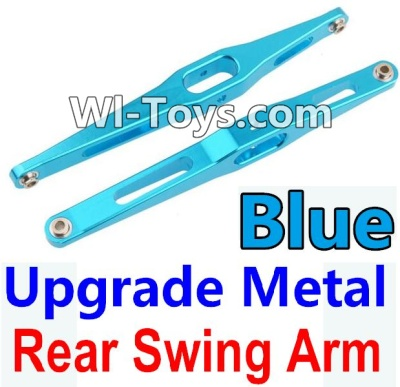 Wltoys 10428 Upgrade Metal Rear Swing Arm-Blue-2pcs,Wltoys 10428 Parts