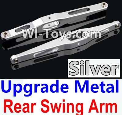 Wltoys 10428 Upgrade Metal Rear Swing Arm-Silver-2pcs,Wltoys 10428 Parts