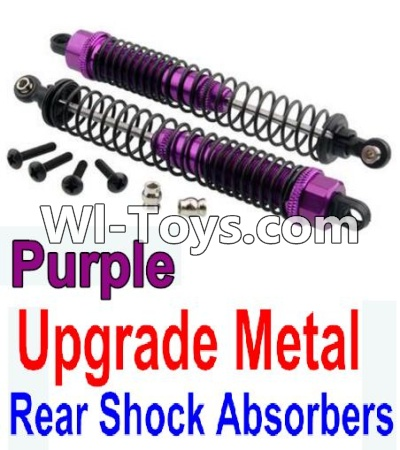 Wltoys K949 Upgrade Metal Rear Shock Absorbers(2pcs)-Purple,Wltoys K949 Parts