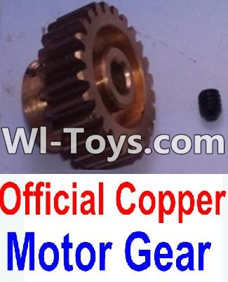 Wltoys K949 Official Copper Motor Gear,Wltoys K949 Parts