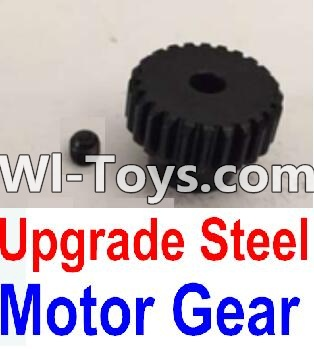 Wltoys 10428 Upgrade Steel Motor Gear Parts,Wltoys 10428 Parts