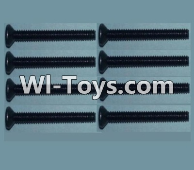 Wltoys 10428 Flat head inner hexagon Screws-M2X16-(8pcs),Wltoys 10428 Parts